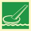 Знак ИМО 2.6 Скат для эвакуации
