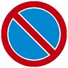 """Знак дорожный 3.28. """"Стоянка запрещена"""""""