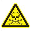 Знак W03 Опасно. Ядовитые вещества