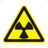 Знак W05 Опасно. Радиоактивные вещества или ионизирующее излучение