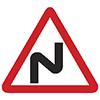 """Знак дорожный 1.12.1. """"Опасные повороты"""""""