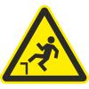 Знак W15 Возможность падения с высоты