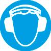 Знак M03 Работать в защитных наушниках